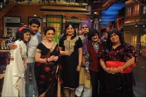 Helen and Asha Parekh on The Kapil Sharma show