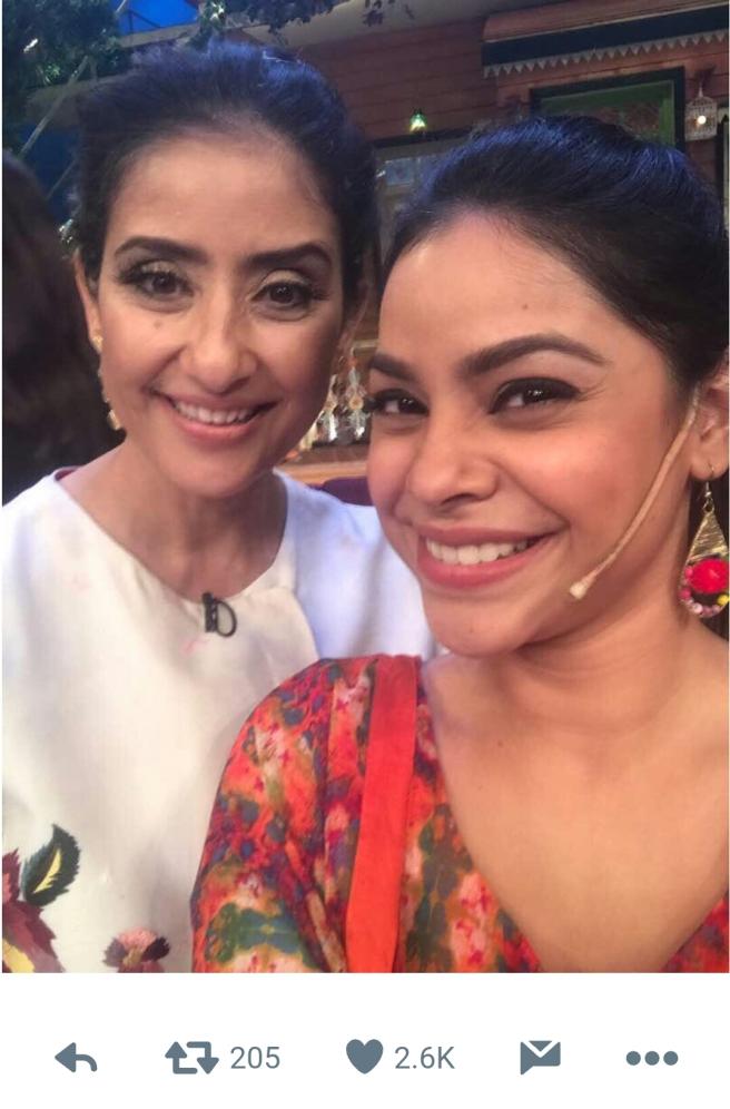 Sumona Chakravarty worked with Manisha Koirala in Mann