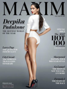 Deepika Padukone hot look on Maxim India cover