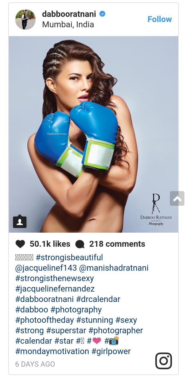Jacqueline Fernandez nude photoshoot