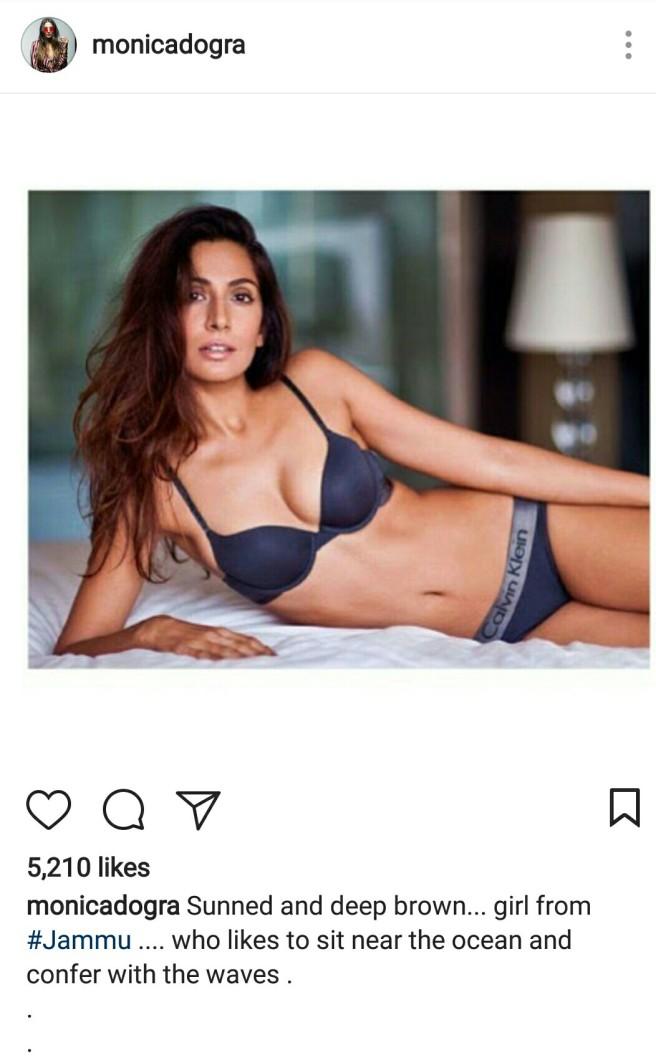 Super hot model Monica in bikini
