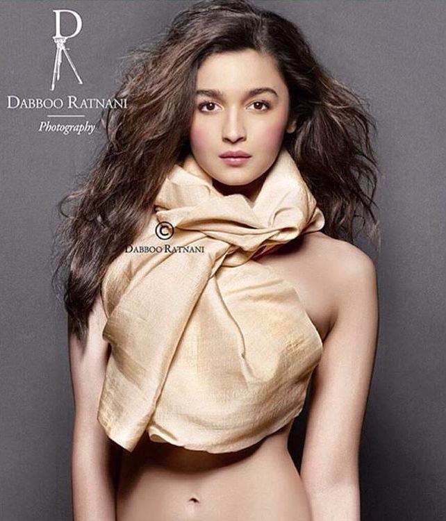 Daboo ratani calender topless picture of Alia