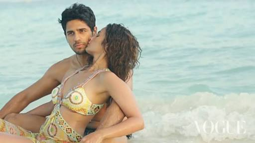 Siddharth Malhotra and Alia Bhatt a sexy hot couple making the summer more hot